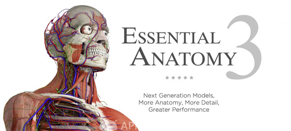 Essential Anatomy 3 1.1.0