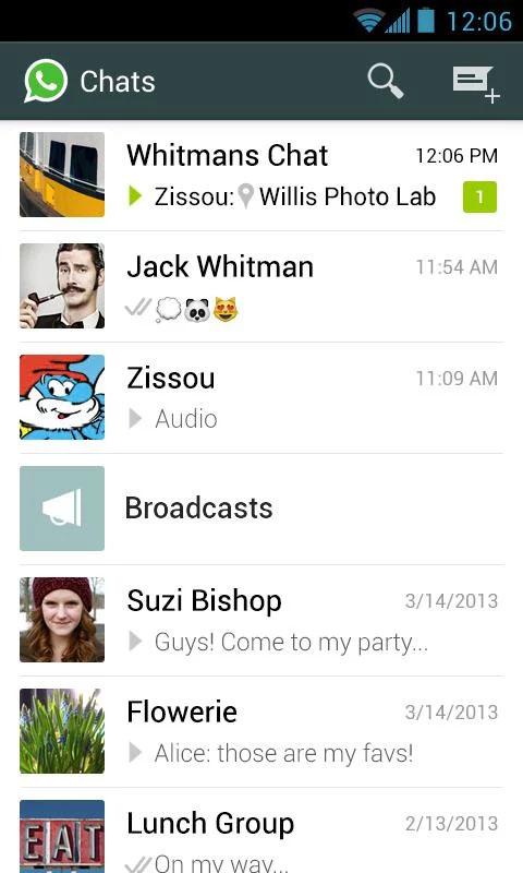 WhatsApp Messenger v2.19.169 دانلود واتس آپ نسخه جدید