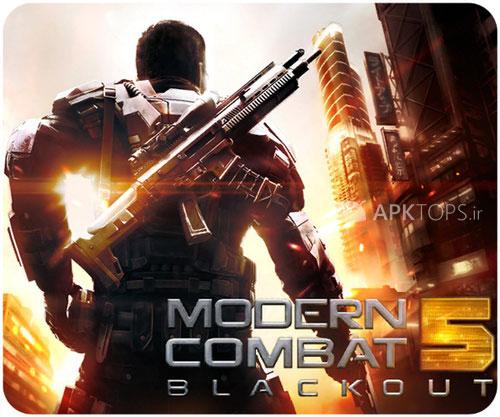 نسخه جدید Modern Combat 5 Blackout