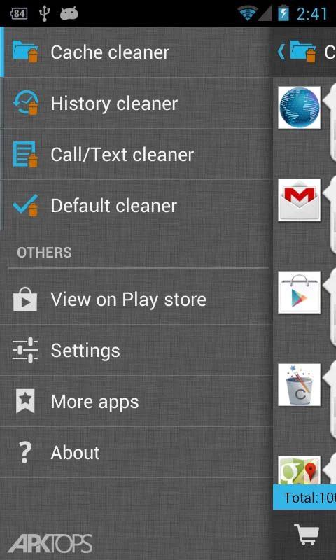 1Tap Cleaner Pro v3.36 Patched دانلود برنامه پاکسازی کامل گوشی