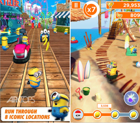 Despicable Me Minion Rush 2.0.3b
