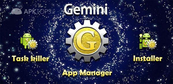 Gemini App Manager 2.3.8