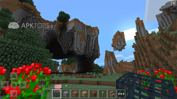 Minecraft v1.13.0.1 دانلود بازی ماینکرافت پاکت + مود اندروید