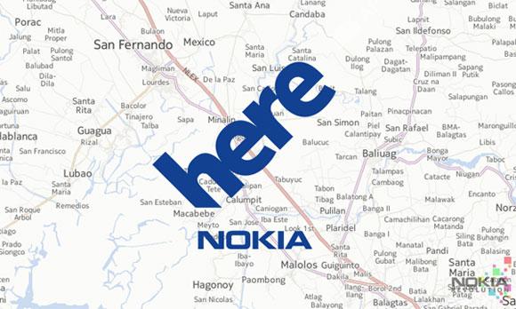 Nokia HERE WeGo نقشه نوکیا