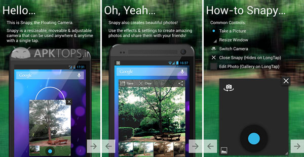 Snapy, The Floating Camera 1.1.9.1 Unlocked