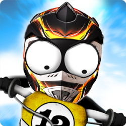 Stickman Downhill - Motocross 1.8 Full