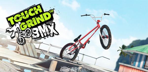 نسخه فول بازی دوچرخه سواری بی ام ایکس اندروید،Touchgrind BMX Full 1.14