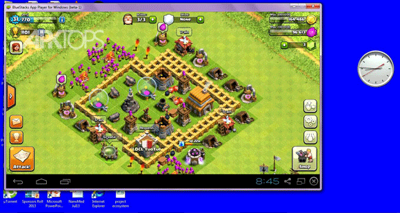 BlueStacks 0.9.4