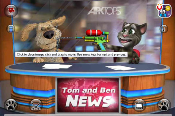Talking Tom & Ben News 2.1 Full