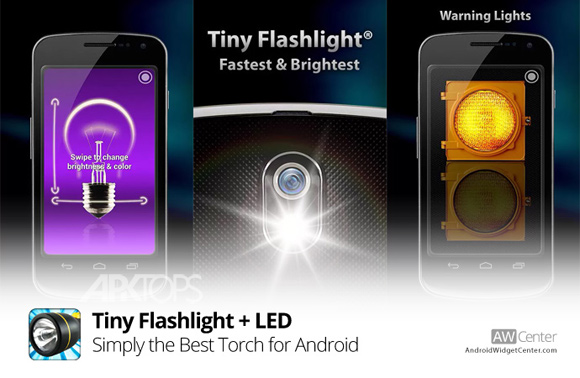 Tiny Flashlight + LED 5.1.4 Ad-Free