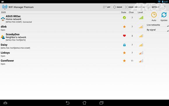 هک توسط نقطه اتصال WiFi Manager Premium v4.3.0-228 نرم افزار مدیریت وای فای ...
