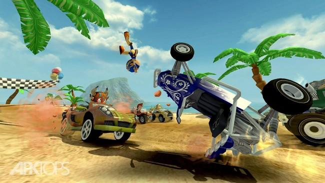 Beach Buggy Racing v1.2.21 دانلود بازی مسابقات ماشین سواری ساحلی برای اندروید