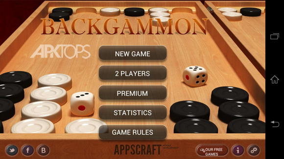 Backgammon 1.5 FullUnlocked