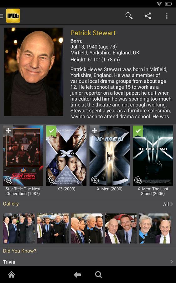IMDb Movies && TV v7.5.5.107550400 Mod دانلود برنامه ای ام دی بی اندروید