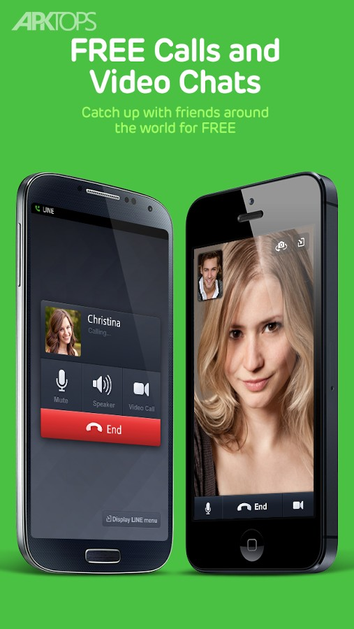 line free calls messages jpnaverlineandroid