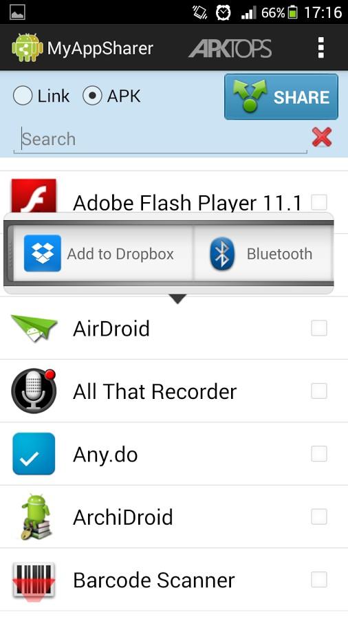 MyAppSharer v2.2.0 دانلود نرم افزار اشتراک گذاری برنامه های نصب ...