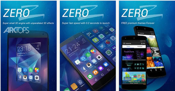ZERO --- 1M size,best launcher 1.02