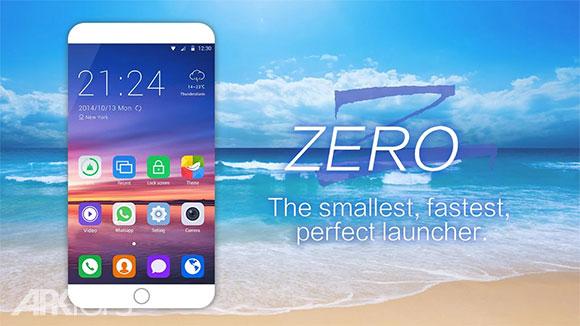 دانلود ZERO Launcher 2.7.5 لانچر سه بعدی و پرطرفدار زیرو اندروید