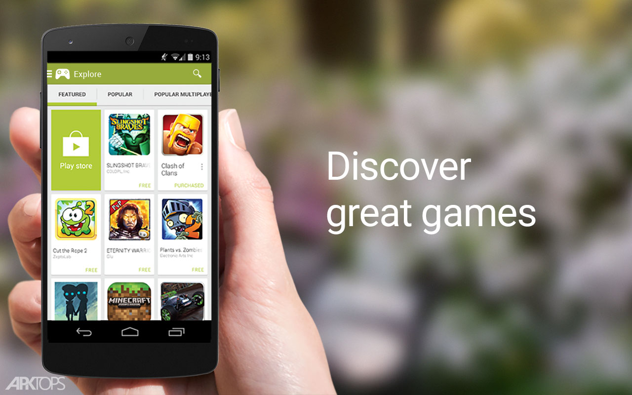 دانلود نسخه جدید گوگل پلی گیم