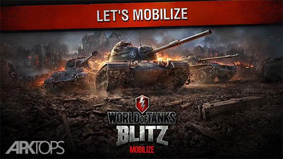 دانلود World of Tanks Blitz 1.5.0.150 بازی جدید و زیبای دنیای تانک ها برای اندروید