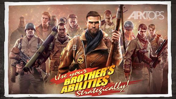 دانلود Brothers in Arms 3 v1.0.3 بازی اکشن و زیبای همرزمان به همراه دیتا برای اندروید + تریلر
