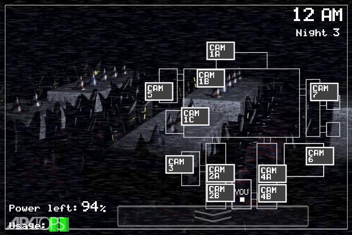 دانلود Five Nights at Freddy's 1.85 بازی پنج شب با فردی اندروید