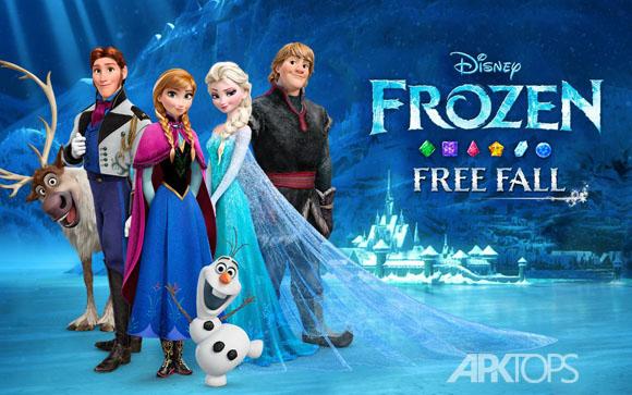دانلود Frozen Free Fall 2.4.1 بازی سرزمین های یخ زده + دیتا + تریلر + مود