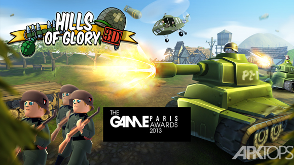 Hills of Glory 3D Free Europe-cover