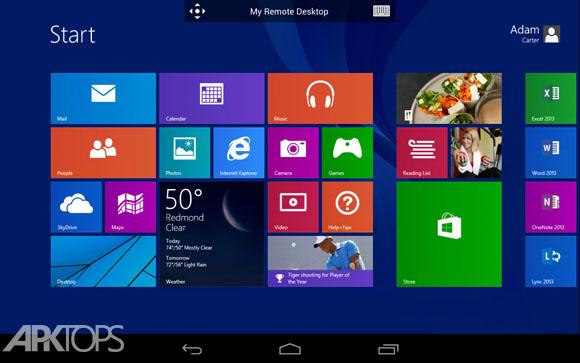 دانلود Microsoft Remote Desktop 8.1.27.229 نرم افزار ریموت دسکتاپ برای اندروید