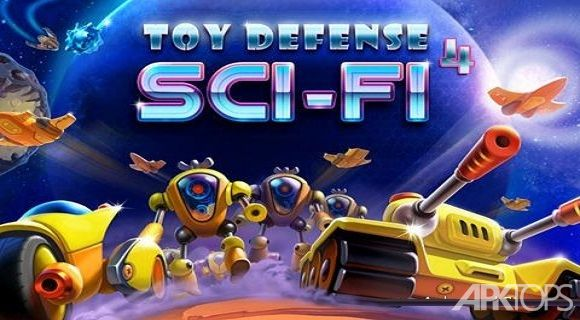 Toy Defense 4: Sci-Fi Strategy