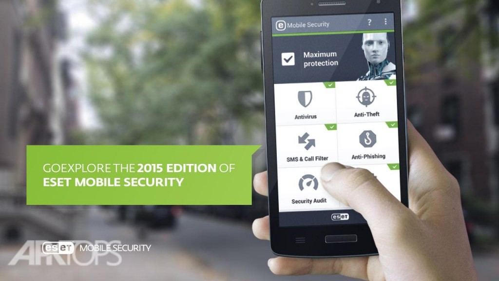 ESET Mobile Security v5.3.90.0 دانلود آنتی ویروس ناد 32 اندروید + لایسنس اندروید