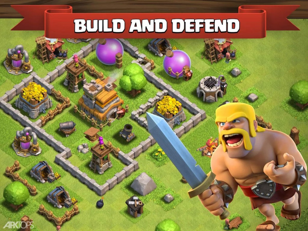 Clash of Clans v10.322.8 دانلود بازی کلش اف کلنز اندروید + کلون + مود