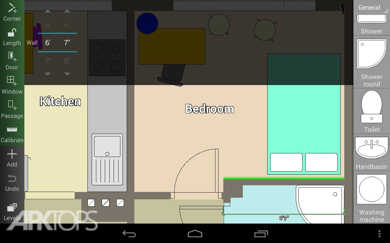 Floor plan creator v3 1 3 unlocked for Floor plan creator unlocked