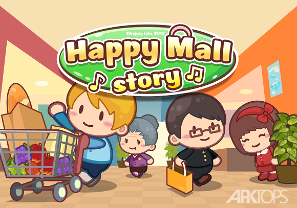 Happy Mall Story Shopping Sim-cover