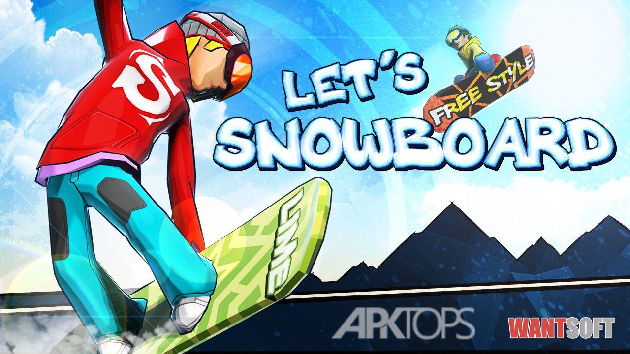 Let's Snowboard2[APKTOPS.ir]