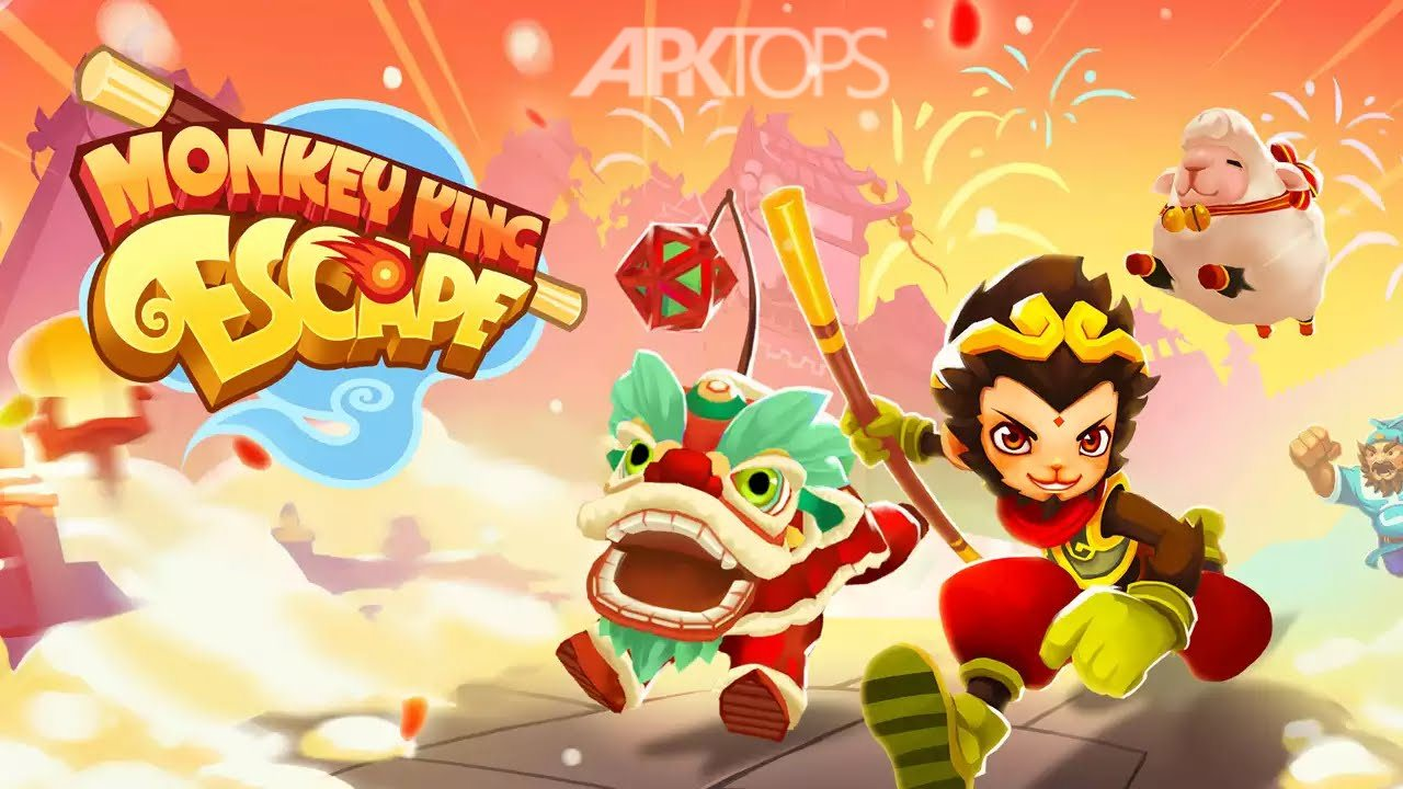 Monkey King Escape7[APKTOPS.ir]