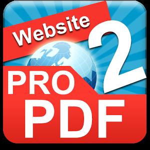 Website To PDF v2.0 دانلود نرم افزار تبدیل وب سایت به PDF در اندروید