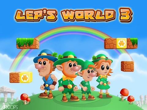 دانلود بازی Lep's World V1.9.8.6 - بازی مشابه ماریو برای اندروید