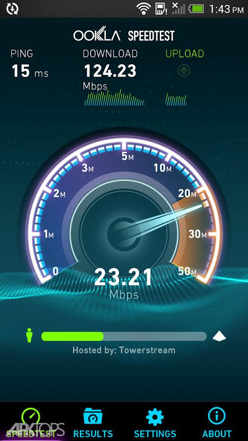 Speedtest by Ookla Premium v4.2.2 برنامه تست سرعت اینترنت اندروید