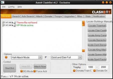 دانلود رایگان نسخه پولی و پرمیوم ربات کلش اف کلنز ClashBot permium 6.2.8