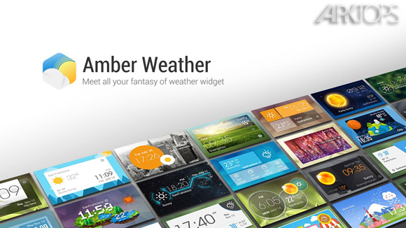Amber Weather 1.6.9 دانلود برنامه هواشناسی حرفه ای در اندروید