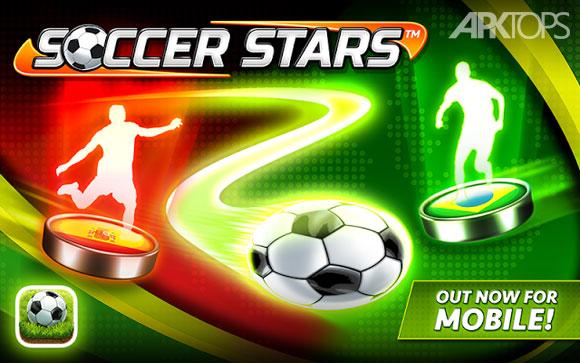 دانلود بازی آنلاین و بسیار جذاب ستارگان فوتبال برای اندروید