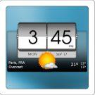 3D Flip Clock && Weather Pro v4.39.22 دانلود برنامه ساعت 3 بعدی