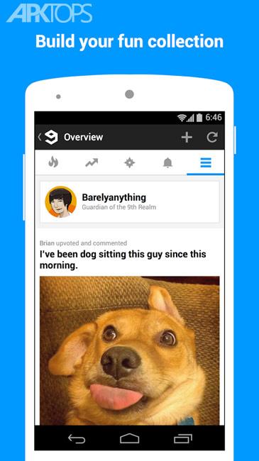 9GAG: Best LOL Pics & GIFs v6.57.01 برنامه تصاویر خنده دار اندروید