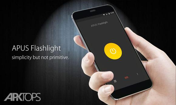 دانلود APUS Flashlight v1.2.1 برنامه چراغ قوه مخصوص اندروید