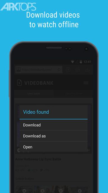 Downloader and Private Browser Premium v3.2.0.208 دانلود برنامه مدیریت دانلود برای اندروید اندروید