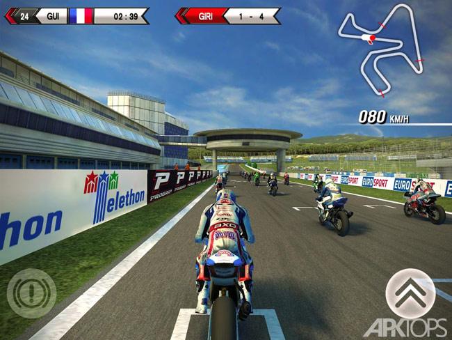 SBK15 Official Mobile Game v1.5.0 دانلود بازی موتور سواری برای اندروید