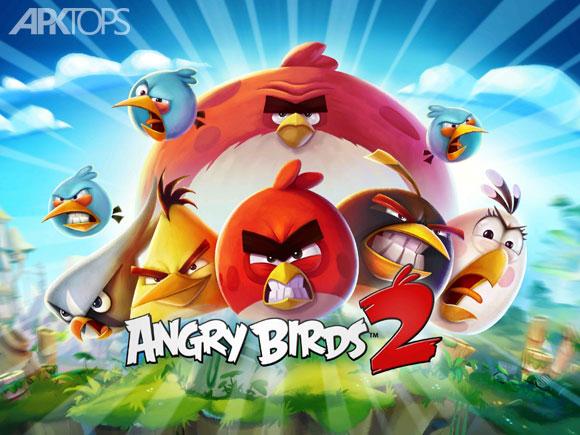 بازی Angry Birds 2 انگری بردز