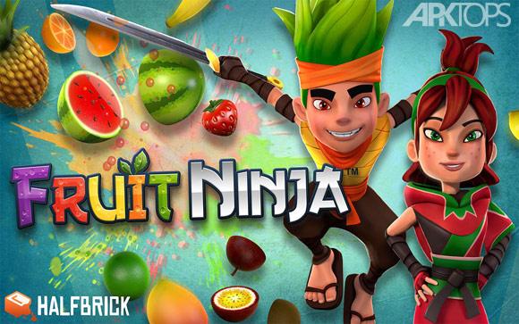 Fruit Ninja دانلود بازی فروت نینجا مود برای اندروید