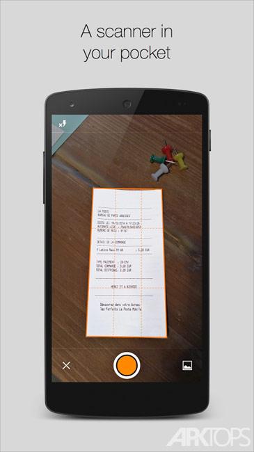 Genius Scan+ PDF Scanner v4.6.1 دانلود نرم افزار اسکنر برای اندروید